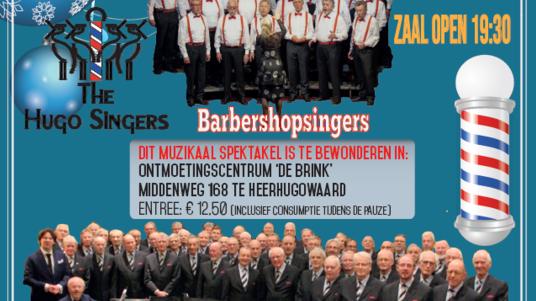 Kerstconcert Westfries Mannenkoor  m.m.v.  Heerhugowaards Barbershop-koor: The Hugo Singers