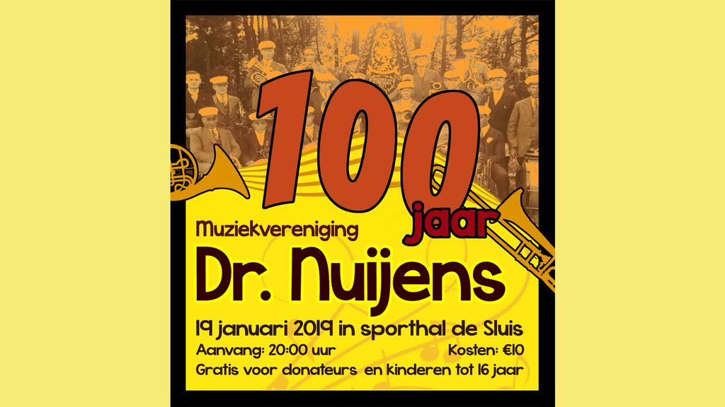 Jubileumconcert Dr. Nuijens