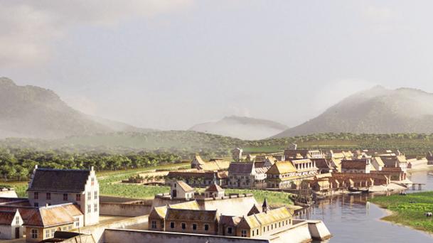 Batavia 1627 in virtual reality