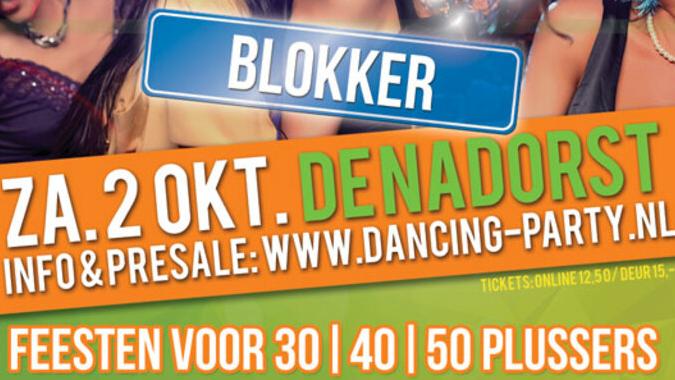 30 40 50 plus Dancing Party Hoorn/Blokker - Dansfeest