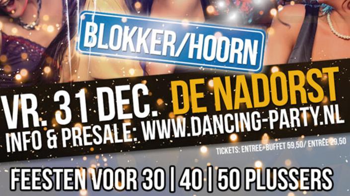 30 40 50 plus Dancing Party Oud & Nieuw - Dansfeest