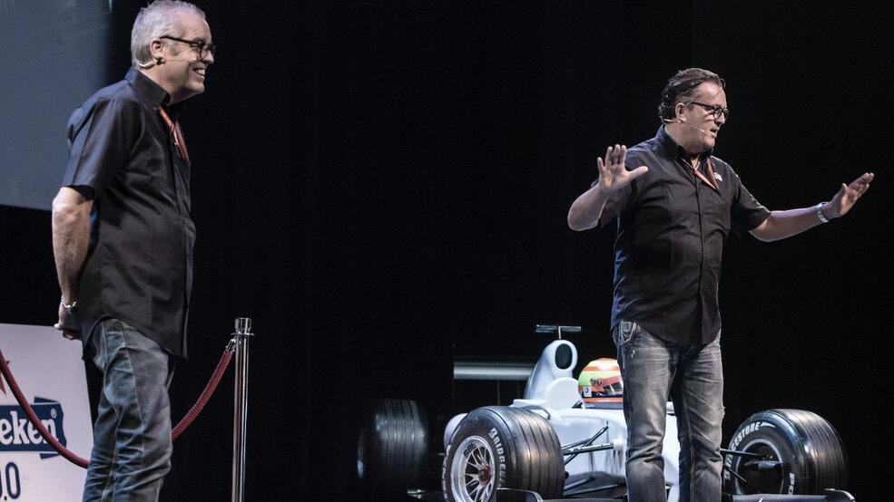 De Formule 1 Show Olav Mol en Jack Plooij