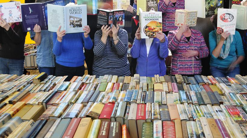 30e boekenmarkt Oosterblokker 18 en 19 september